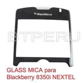 Mica Plastica Glass Blackberry Curve 8350i Nextel Pantalla