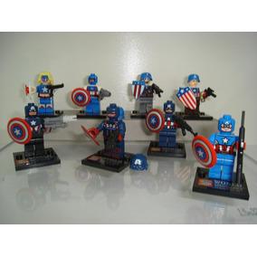 Marvel Universe Capitão América Lego Compatível