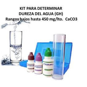 Kit Determina Dureza Del Agua Suavizadores, Albercas Peceras