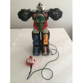 Brinquedo Antigo Power Rangers 36cm Megazord