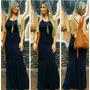 Vestido Longo Sereia C/ Bojo Moda Feminina Garota Moça+brind