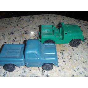Camionete Plástico Bolha E Jeep Plástico Duro