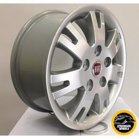 Roda Fiat Ducato Aro 16 - 5 Furos - Prata - Novas