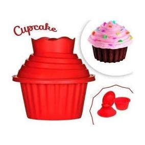 Molde Gigante Cupcake Silicona