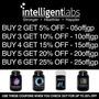Intelligent Labs Berberine Hcl Plus, 500mg Each, 120 Caps