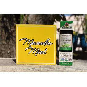Aceite Esencial De Hierba De Limon Organico 100% Natural