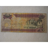 Billete De Republica Dominicana - 50 Pesos.-