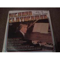 Disco Lp De Richard Clayderman Los 16 Grandes Exitos