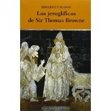 Libro Los Jeroglificos De Sir Thomas Browne *cj