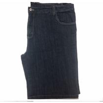Bermuda Masculina Jeans Tamanho Grande Pequeno Defeito 66 70