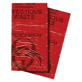 Primera Voz Bhaz01-50 Biohazard Residuos Desechables Bolsa 7