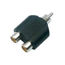 Convertidor 2 Jack Rca A Plug Rca 3 Pzas #20 Electronet25