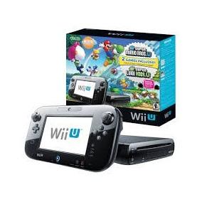 Wii U Mario E Luigi Deluxe Set 32 Gb Novo Lacrado Com Garant