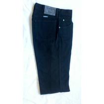 Pantalon Wrangler Montana Jean Negro Talle 29/39 Regular Fit