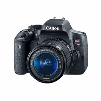 Camara Reflex Canon T6i Lente 18-55mm Wi-fi Hd - Teveo Tecno