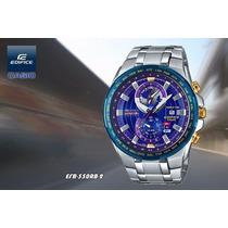 Relogio Masc. Casio Edifice Efr-550rb Red Bull Racing Origin