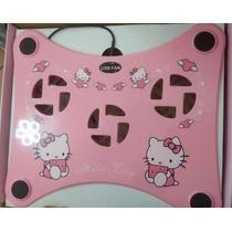 Fan Cooler O Ventilador Para Laptos De Hello Kitty