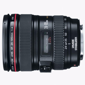 Lente Canon Ef 24-105mm F/4l Is Usm Sem Juros