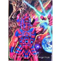 La Llegada De Galactus / Marvel Comics Pepsi Cards 15