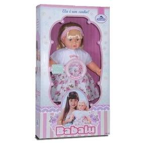 Boneca Babalu - Fala 50 Frases - 59cm - Adijomar Brinquedos