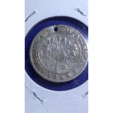 Moneda De Costa Rica 1 Real De Plata 1849 Jmg