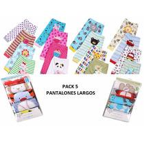 Pack 5 Pantalones Largos Carters Con Parches Varon Y Nena