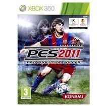 Jogo Pes 2011 Xbox 360 Novo Lacrado A Pronta Entrega