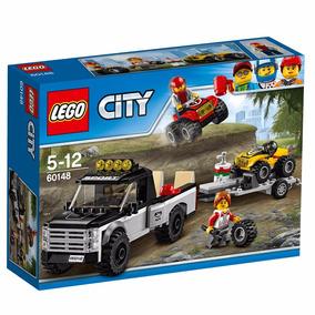 Lego City 60148 Equipe De Corrida De Veículo Off- Road