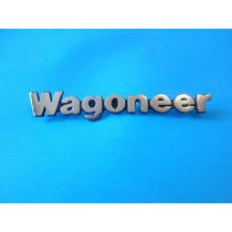 Emblema Wagoneer Jeep Doble Traccion Camioneta Clasica