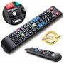 Controle Remoto Samsung Smart Tv Lcd Função Futebol