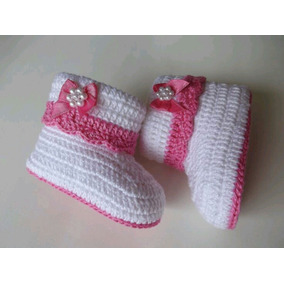 Botinha De Crochê Pra Bebê, Sapatinho De Crochê Menina