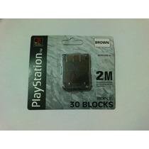 Memory Card Psone, Ps1, Playstation Nueva + Llavero Joy