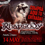Rhapsody En Argentina - Entrada!!!