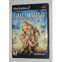 Final Fantasy Xii Ps2 Black Label Original Em Estado De Novo