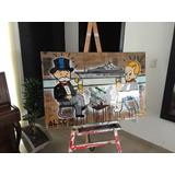 Pinturas De Alec Monopoly Replica (fotos Reales)
