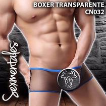 Boxer Transparente Para Caballero Cn032
