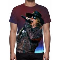 Camisa, Camiseta Guns N´ Roses Live - Estampa Total