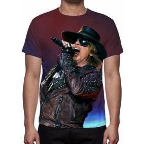 Camisa, Camiseta Guns N´ Roses Live - Frete Grátis