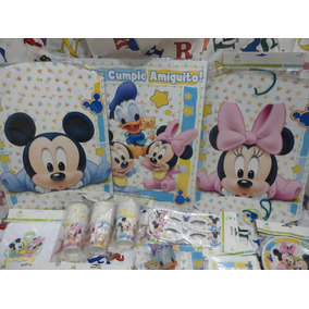 Combo Mickey/minnie Bebes Para 30 Chicos Super Oferta!!