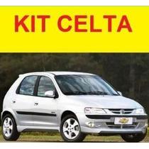 Kit Spoiler Celta 00 01 02 03 04 05 Diant. Laterais + Tras.