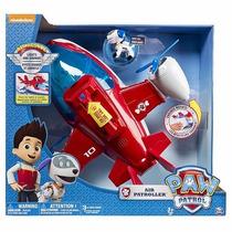 Paw Patrol Avión Air Patroller Con Figura Robodog Luz/sonido