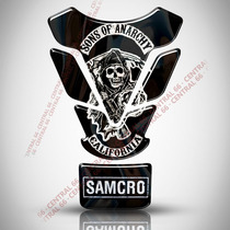 Tankpad Tanque Red Bull Sons Of Anarchy Protetor Resinado