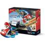 Nintendo Wii U 32gb Negro Deluxe Con Mario Kart 8 Nuevo