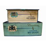 Antigua Botella Centenario Cognac De Laage 1956 France