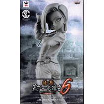 Dragon Ball Z Banpresto Figura Numero 18 White Num