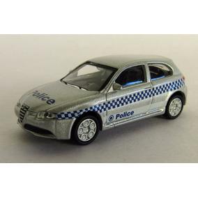 Schuco Automovil Alfa Romeo Policia Ho 187 C Caja