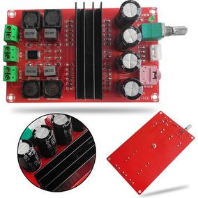 Kit Placa Montada Amplificador 2.0 100+100=200w Rms Classe D