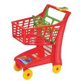 Carrinho De Mercado Magic Toys Vermelho Ref:872