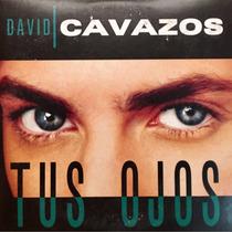 Cd David Cavazos Tus Ojos Promo Usado