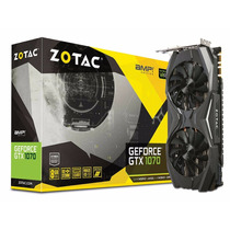 Placa De Vídeo Zotac Gtx1070 8gb Amp! Edition Zt-p10700c-10p